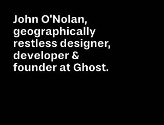 john.onolan.org screenshot