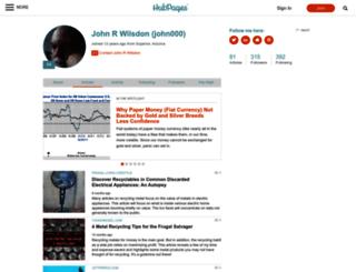 john000.hubpages.com screenshot