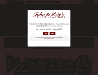 johnandpetes.com screenshot