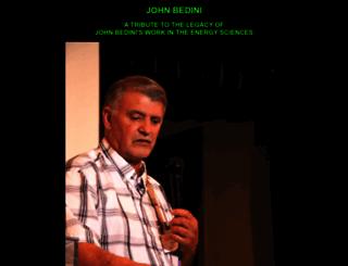 johnbedini.net screenshot