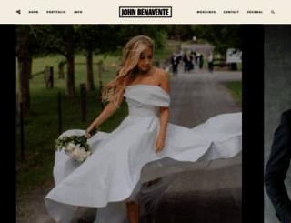 johnbenavente.com.au screenshot