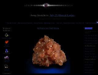 johnbetts-fineminerals.com screenshot
