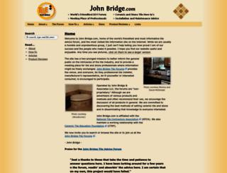 johnbridge.com screenshot