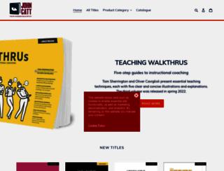 johncattbookshop.com screenshot