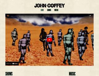 johncoffey.nl screenshot