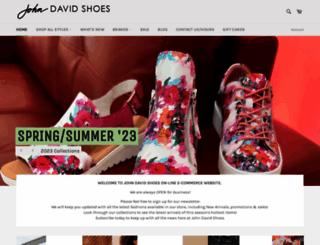 johndavidshoes.ca screenshot