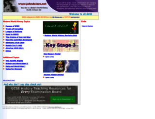 johndclare.net screenshot