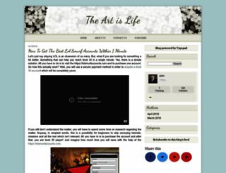 johnfenzel.typepad.com screenshot