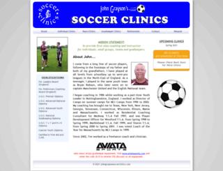 johngraysonsoccerclinics.com screenshot