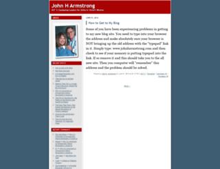 johnharmstrong.typepad.com screenshot