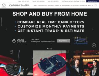 johnhine.com screenshot