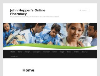johnhopperonlinepharmacy.com screenshot