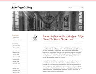 johniezgv.wordpress.com screenshot