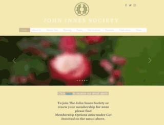 johninnessociety.org.uk screenshot