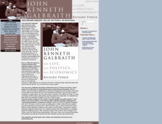 johnkennethgalbraith.com screenshot