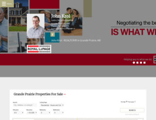 johnkrolrealtor.ca screenshot
