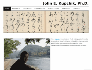 johnkupchik.wordpress.com screenshot