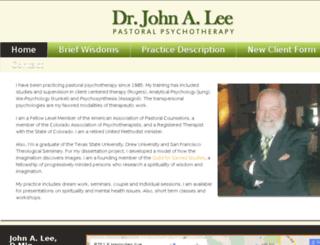 johnleetherapy.com screenshot
