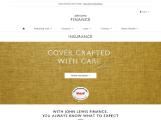 johnlewis-insurance.com screenshot