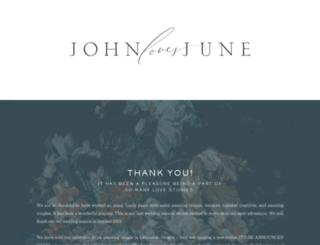 johnlovesjune.com screenshot