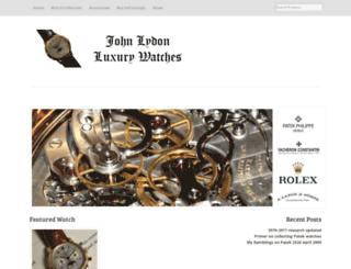 johnlydon-luxury-watches.com screenshot