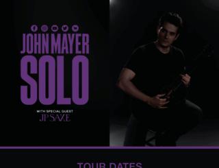 johnmayer.com screenshot