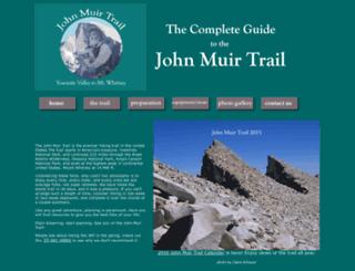 johnmuirtrail.org screenshot