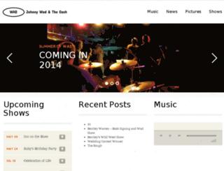 johnny-wad.com screenshot