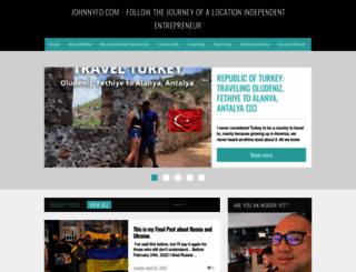 johnnyfd.com screenshot