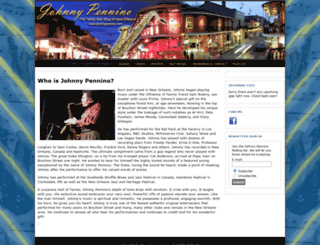 johnnypennino.com screenshot