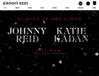johnnyreid.com screenshot