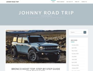 johnnyroadtrip.net screenshot