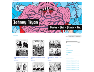 johnnyryan.bigcartel.com screenshot