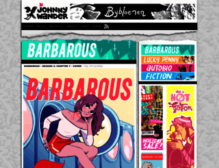 johnnywander.com screenshot
