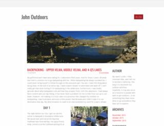 johnoutdoors.weebly.com screenshot