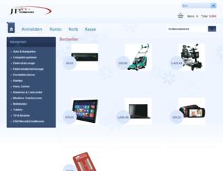 johnparkertech.com screenshot