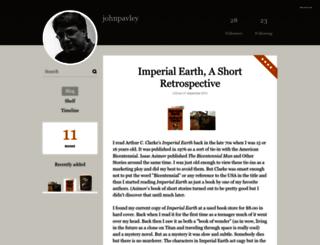 johnpavley.booklikes.com screenshot