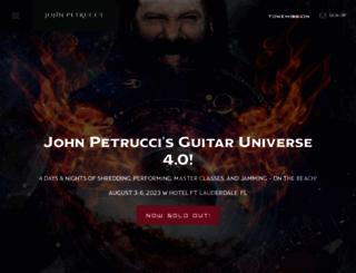 johnpetrucci.com screenshot