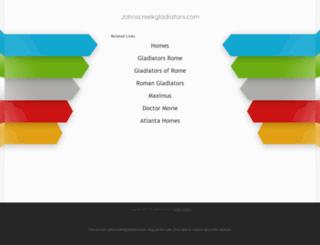 johnscreekgladiators.com screenshot