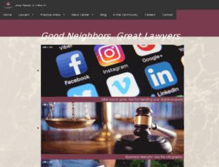 johnsflaherty.webteam.net screenshot