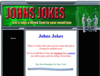 johnsjokes.co.uk screenshot