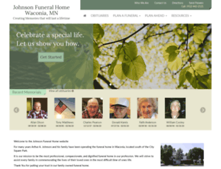 johnsonfh.com screenshot