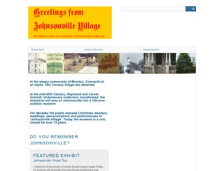 johnsonville.omeka.net screenshot
