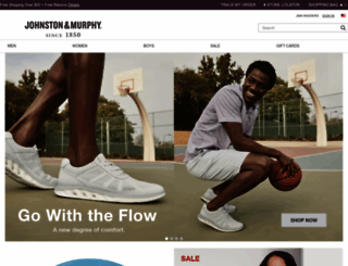 johnstonmurphy.com screenshot