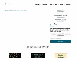 johntaylorgatto.com screenshot