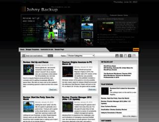 johny-backup.blogspot.com screenshot