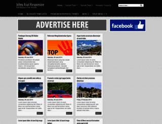 johnyasal-responsive.blogspot.com screenshot