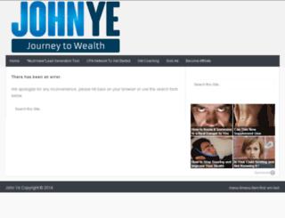 johnye.com screenshot