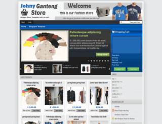 johnygantengstore-cart.blogspot.in screenshot