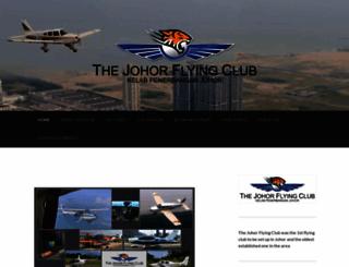 johorflyingclub.com screenshot